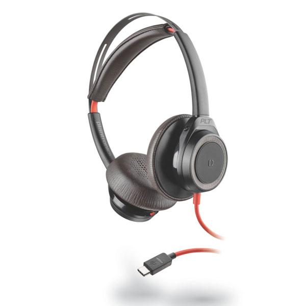Tai nghe Plantronics Blackwire 7225 USB Type-C (Màu đen)