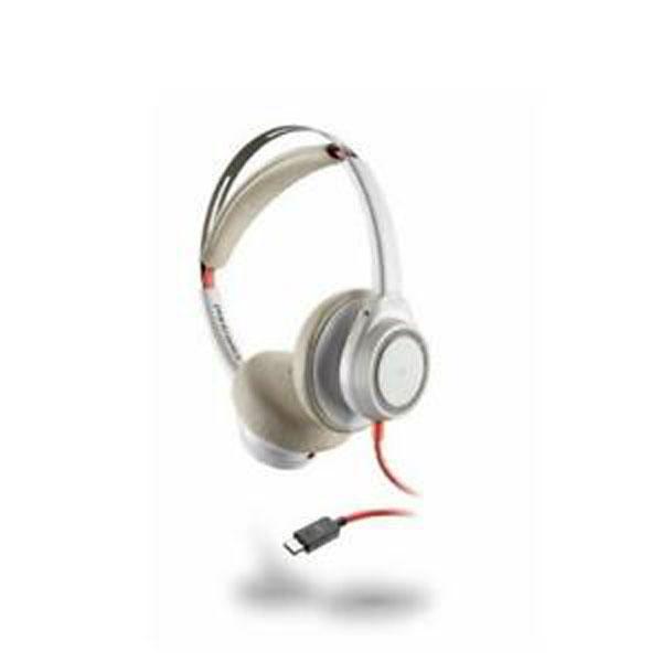 Tai nghe Plantronics Blackwire 7225 USB Type-C (Màu trắng)
