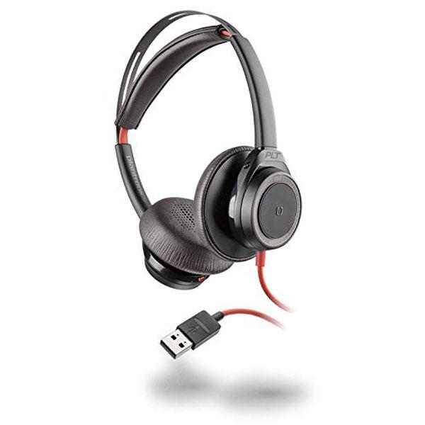 Tai nghe Plantronics Blackwire 7225 USB Type-A (Màu đen)