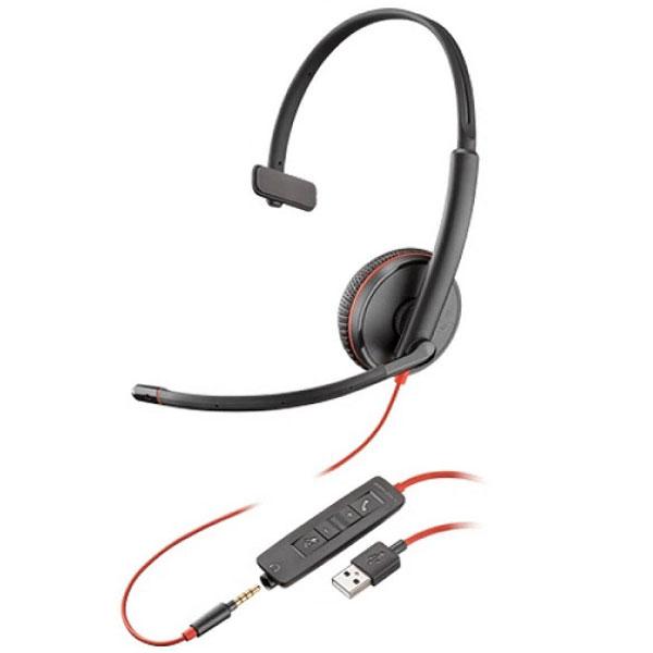 Tai nghe Plantronics Blackwire C3215 USB-A