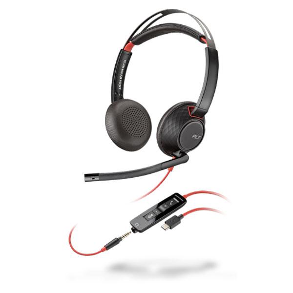 Tai nghe Plantronics Blackwire C5220 USB-C