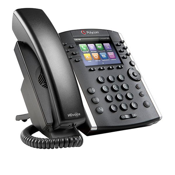 Điện thoại IP Polycom VVX 411 PoE