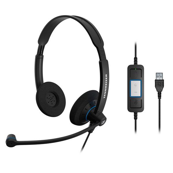 Tai nghe Sennheiser SC 60 USB CTRL