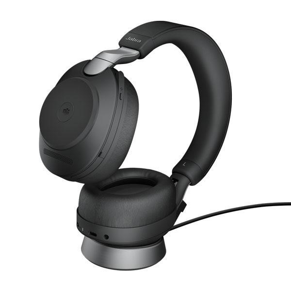 Tai nghe Jabra Evolve2 85 USB-C UC Stereo có đế sạc